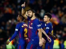 Bekijk hier hoe Suarez en Messi met Girona spelen