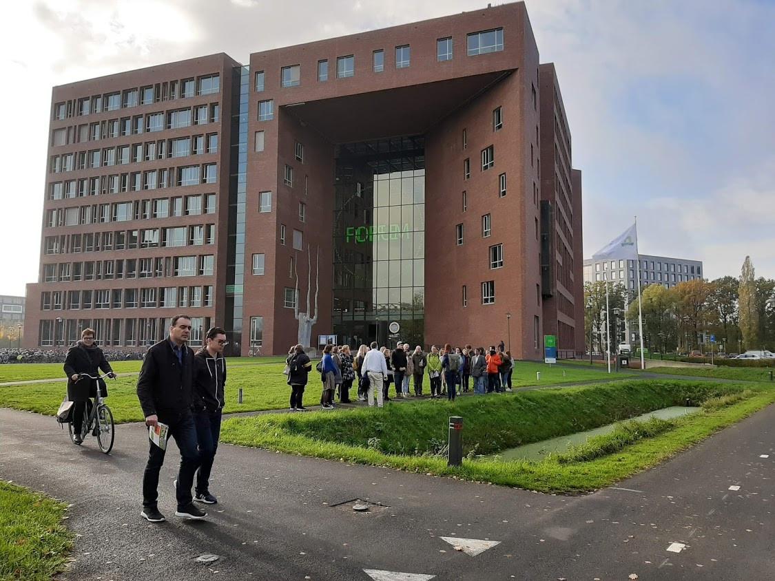 Forumgebouw op de Wageningen Campus.