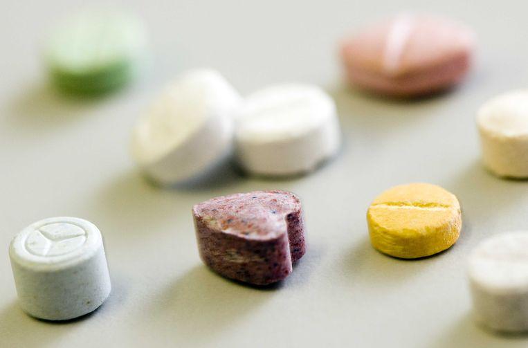 Illustratie: XTC-pillen