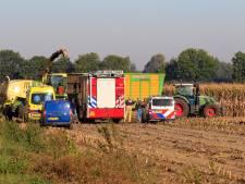 Jager aangereden door hakselaar tijdens werkzaamheden in Lieshout