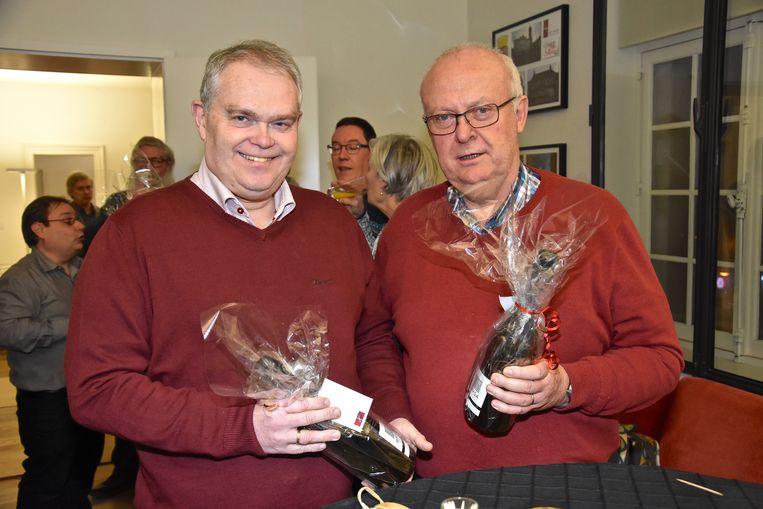 Afscheidnemende raadsleden - Karl Debuck en Ruddy Nuytten: goed voor samen 42 jaar anciënniteit in de gemeenteraad