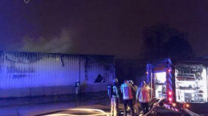 VIDEO. Buitenafdeling Brico zwaar beschadigd na hevige brand