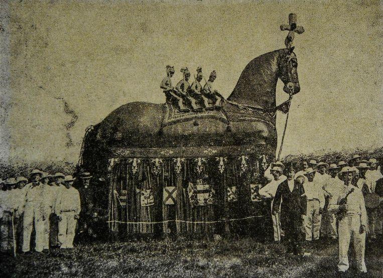 het oudste beeld dateert van 1888.