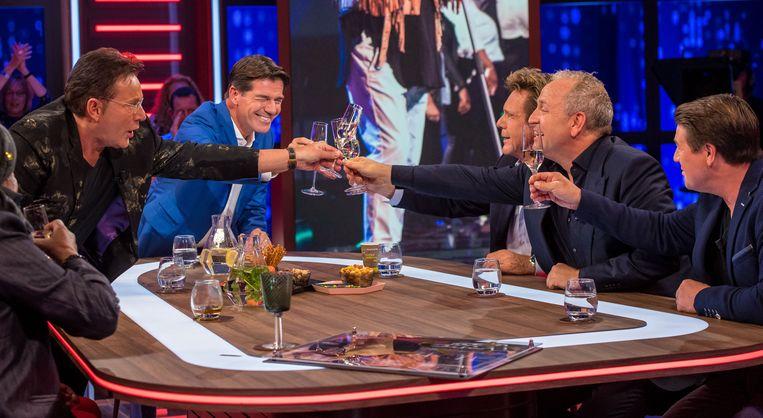 Twan Huys bij RTL Late Night. Beeld ANP Kippa