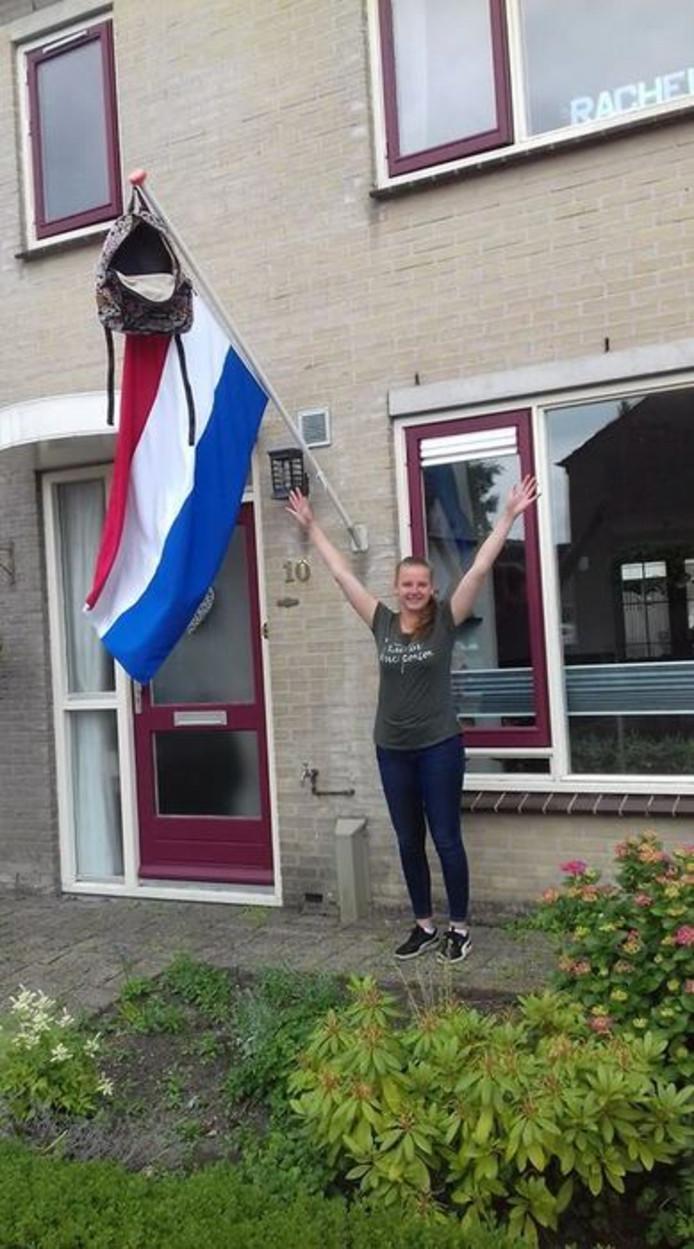Rachel Hogendoorn uit Oudewater is geslaagd voor haar havo.