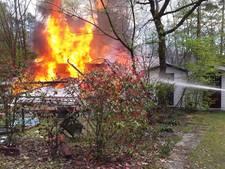 Explosie legt vakantiewoning in puin