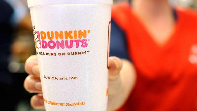 Dunkin' Donuts trok zich zeventien jaar geleden terug uit Nederland. Beeld anp