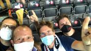 """OHL-supporter van het eerste uur Theo Francken ziet Leuvenaars voor beperkt publiek historische zege pakken: """"Fantastisch om nog eens een wedstrijd te beleven in een stadion"""""""