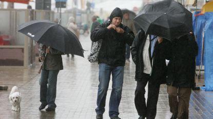 KMI waarschuwt voor overvloedige regen in Limburg