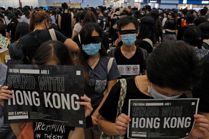 Neuvième semaine de manifestations à Hong Kong
