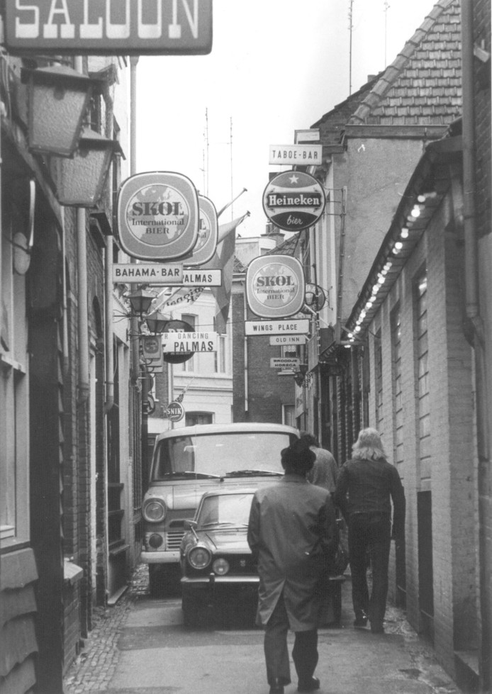 Vlaamsegas in de jaren zeventig.