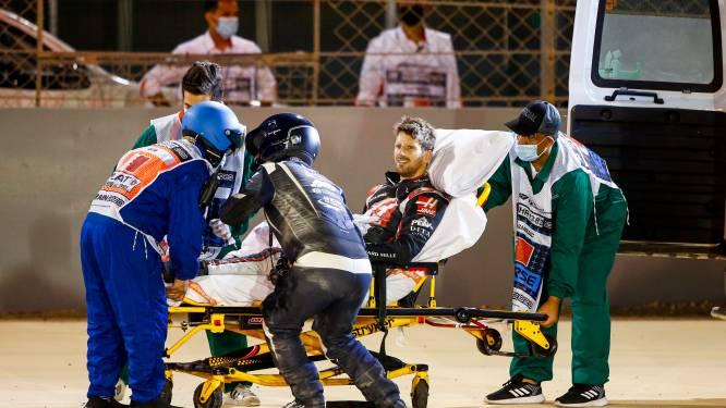 Romain Grosjean mag ziekenhuis verlaten na zware crash