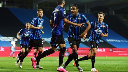 Lazio lijdt eerste nederlaag in 22 wedstrijden bij Atalanta, Castagne en Lukaku vallen in