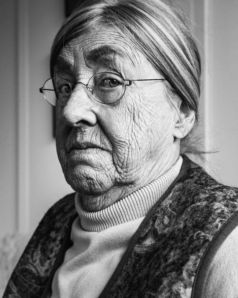 Roos Derks overleefde de hongerwinter zonder haar ouders. Beeld Rebecca Fertinel