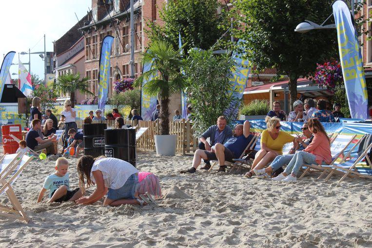 Eeklo Beach zorgde voor gezelligheid in het hartje van Eeklo.