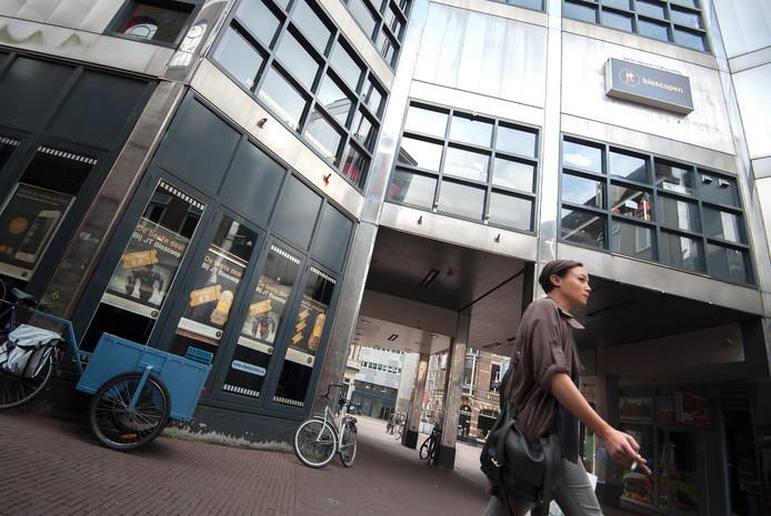 De 'blikken bioscoop' in Arnhem. (foto ter illustratie)