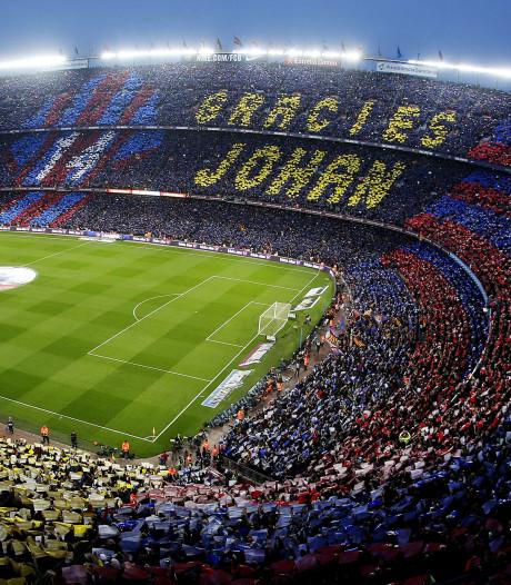 Ajax en Barça herdenken Cruijff: altijd in onze gedachten