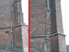 Dieven stelen opnieuw loden pijpen van kerk in Asperen