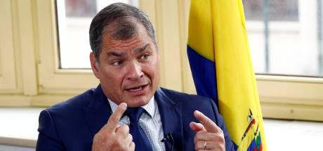 L'Équateur ordonne l'arrestation de l'ex-président Rafael Correa, en exil en Belgique