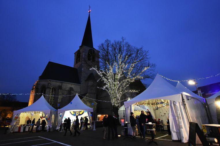 De kerstmarkt in Zaventem