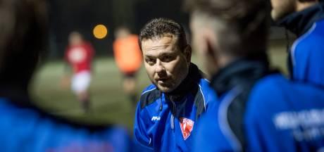 Trainer Wilco Woutersen verlaat voetbalclub Albatross