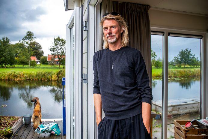 Arnaud Mooij  is al jaren op zoek naar een plek voor zijn tiny house.