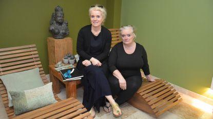 Zussen Sylvie en Sophie geven gratis massages aan familieleden van kankerpatiënten