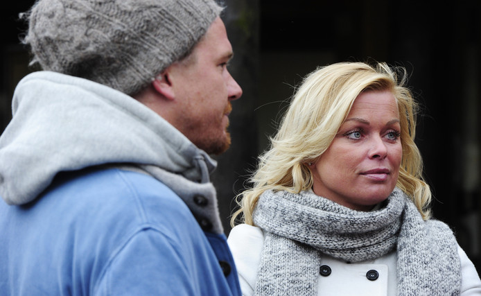 Bridget Maasland en Johnny de Mol begin 2011.