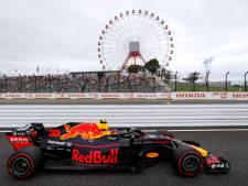 Verstappen gaat voor derde podiumplek op rij in Suzuka