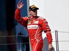 Räikkönen ook in 2018 bij Ferrari