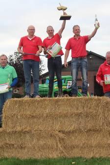 Achterhoekers winnen goud en zilver op NK Boerengolf in Groesbeek