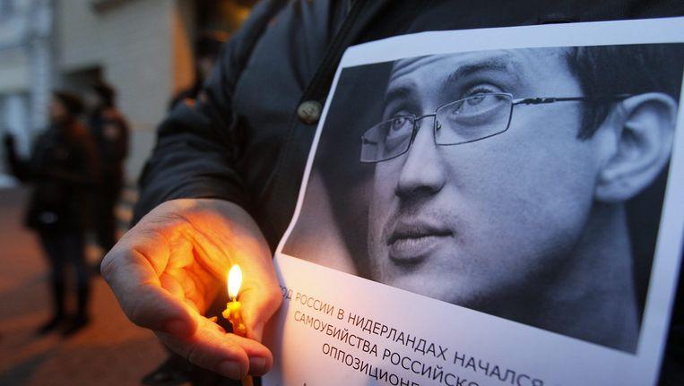 De Nederlandse overheid heeft op meerdere momenten onzorgvuldig gehandeld in de zaak van de Aleksandr Dolmatov. Beeld EPA