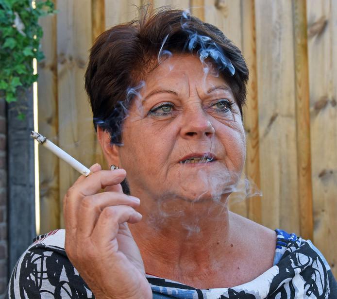 """Wilma Withuis: ,,Het wordt vechten tegen die sigaret."""""""