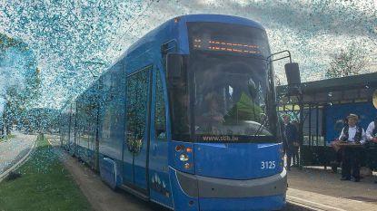 Tram 8 rijdt na twee jaar wachten uit