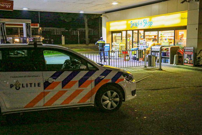 Het incident gebeurde bij een tankstation aan de Europaweg in Helmond.