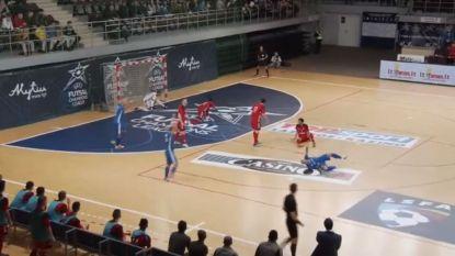 VIDEO. Met deze fraaie goals etaleert zaalvoetbalkampioen Halle-Gooik klaar te zijn voor confrontatie met nummer één van Europa