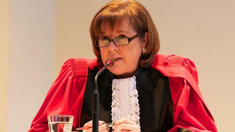 Voorzitter van de assisenzaak Fabienne Detandt.