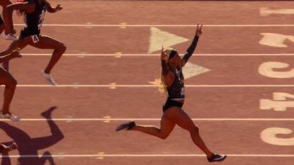 Het regent toptalenten: 19-jarige studente zit na fenomenaal nummer sprinttoppers nú al op de hielen