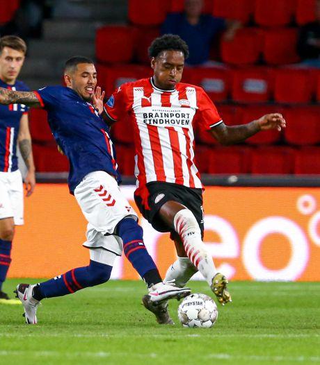 Maxi Romero redt PSV na blunder van keeper Mvogo