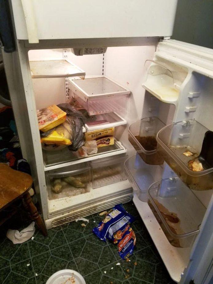 En blik in de koelkast van de familie Bethel.