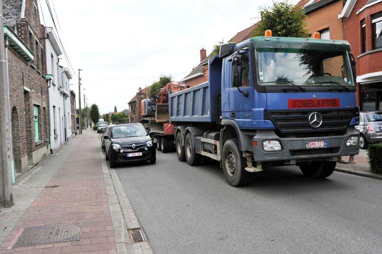 In de Stijn Streuvelslaan worden de komende weken werken aan de waterleiding uitgevoerd.