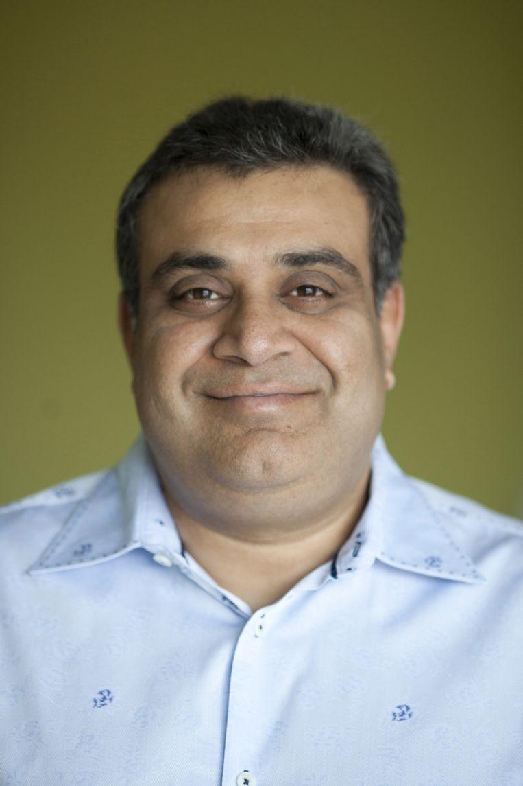 Om Malik, verslaggever en oprichter van GigaOmni-Media, een blog dat nieuws en analyses brengt over startups en technologie. Beeld Peter Dasilva/HH