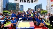 Overwinning Belgisch zonnewagenteam kleurt Roeselaars