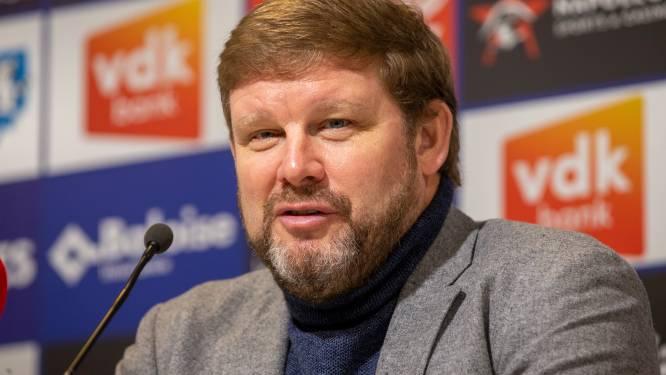 """Vanhaezebrouck: """"De mensen van het Overlegcomité zullen wel intelligent genoeg zijn om in te zien wat het maatschappelijk belang van voetbal is"""""""