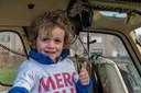 Rune Lanckriet (4) mocht tijdens de bekendmaking van het nieuwe sponsorcontract in februari plaatsnemen in de MUG-helikopter, die naar Artes in Zeebrugge was gevlogen. Dit keer was hij wél in de opperste stemming.