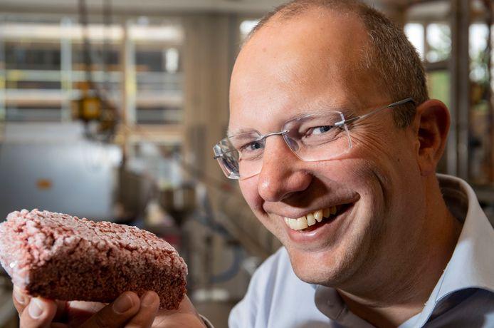Wouter de Heij van TOP dat vleesvervangers ontwikkelt.