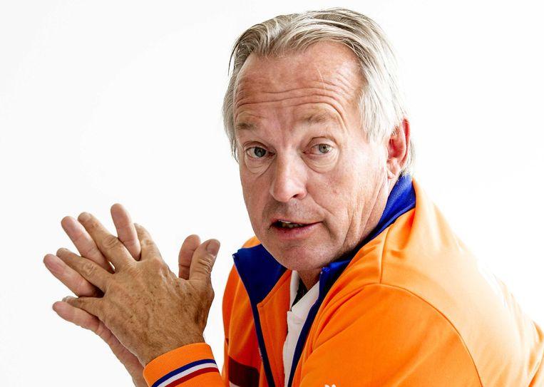 Joop Alberda, interim-directeur technische zaken, bereikte de hogere WK-klassering via stille diplomatie. Beeld ANP