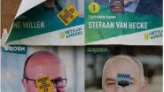 Groen dient klacht in voor vandalisme aan affiches