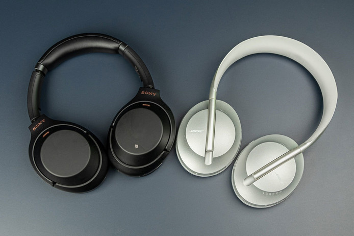 De Sony WH-1000XM3 en Bose NC700