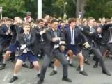 Studenten in Christchurch dansen voor slachtoffers aanslag